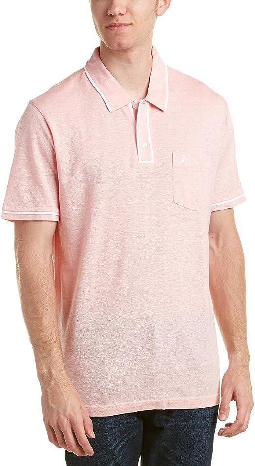 Original Penguin Camisa de lino Earl Polo para hombre - Rosado ...