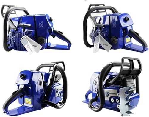 Farmertec Holzfforma Blue Thunder G660 Gasoline Chain Saw Chainsaw 92CC with 3 8 .063 25 Inch Guide Bar and 25 Inch 3 8 .063 84DL Saw Chain