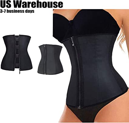 Body Shaper Slimming Wrap Belt Waist Cincher Corset Trainer Fajas Colombianas US