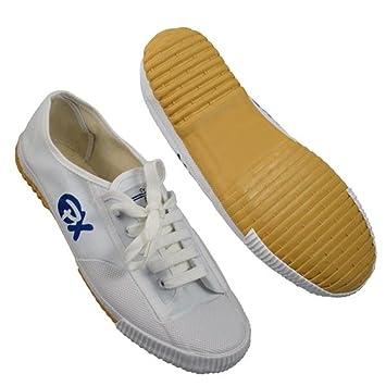 Segeltuchschuhe   Schuhe für Kung Fu und Wu Shu, Farbe weiss , Gr. 37 18786095a3
