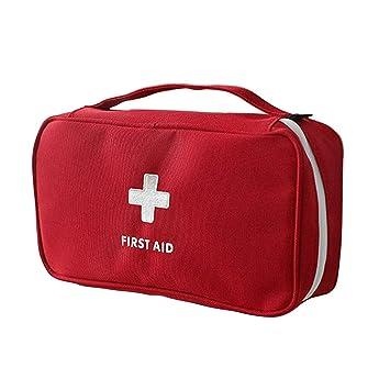 Tragbare Erste-Hilfe-Tasche (ohne Inhalt) rot: Amazon.de: Küche ...