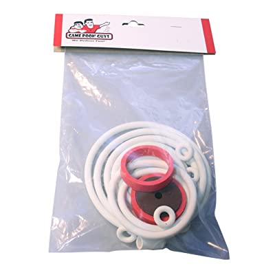 Game Room Guys Gottlieb Totem White Rubber Ring Kit : Sports & Outdoors
