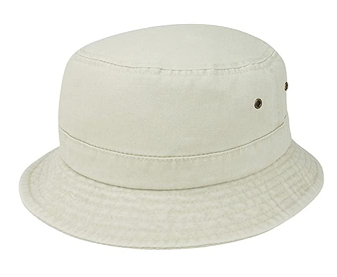 a07fe3d206d Amazon.com  G Boy s Pigment Dyed Twill Washed Bucket Hat 56cm (Beige ...