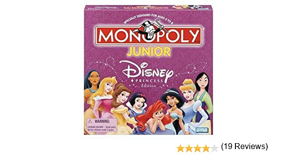Monopoly Junior Disney Princess by Hasbro: Amazon.es: Juguetes y juegos