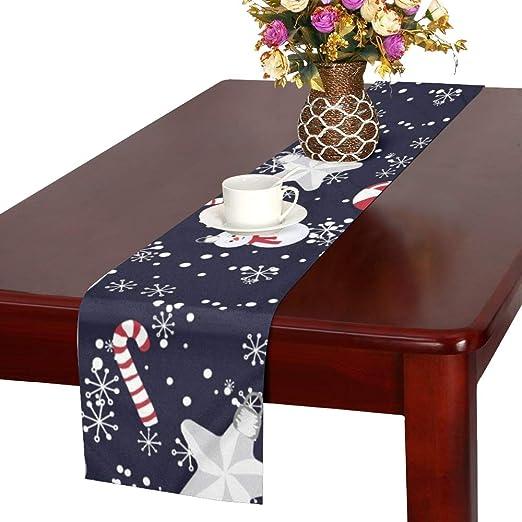 JOCHUAN Navidad Juguetes Dulces Mesa Corredor, Cocina Comedor Mesa ...