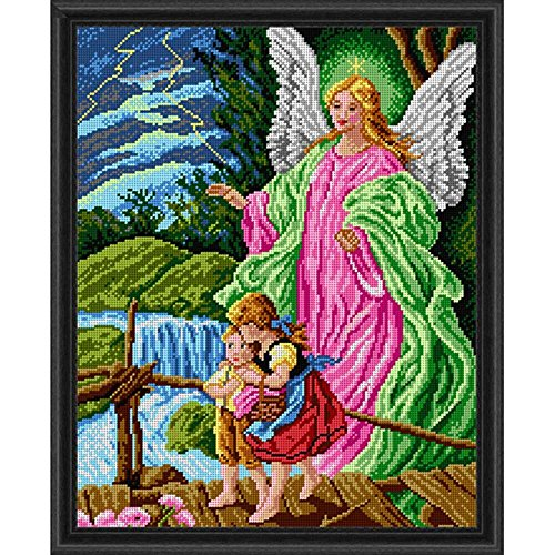 Orchidea Guardian Angel Needlepoint Canvas