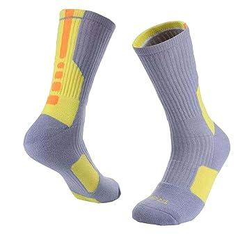 Calcetines de baloncesto suave transpirable para los niños un par: Amazon.es: Deportes y aire libre