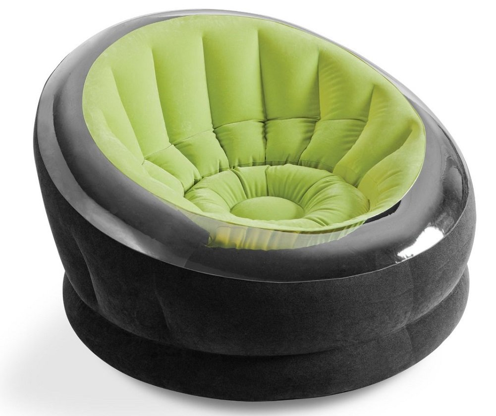 Intex Inflatable Lime Green Empire Chair 68582EP