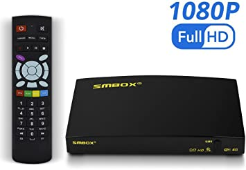 SMBOX SM9 1080P Full HD Receptor de satélite TV Box con Todos los ...
