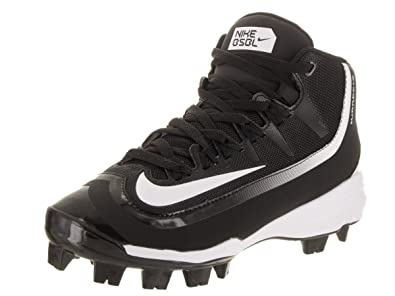 save off 83986 22548 Nike Boy s Huarache 2KFilth Pro (GS) Baseball Cleat Black White Size 5 M