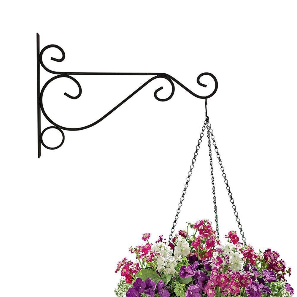 jincome Hanging Plant Hook montado en la pared, hierro, para ...