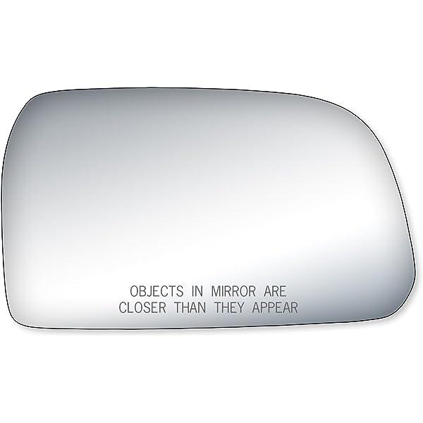 Full Adhesive For 10-15 Hyundai Tucson Passenger Sid Mirror Glass Replacement