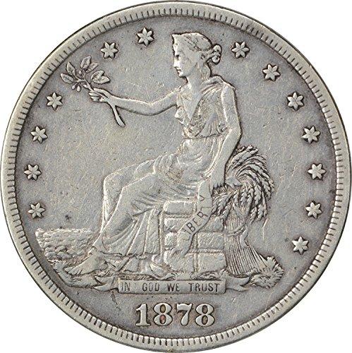 1878 S Trade Dollar VF