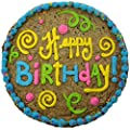 "Triolo's Bakery 'Happy Birthday' Chocolate Chip Cookie Cake 12"" by Triolos Bakery"