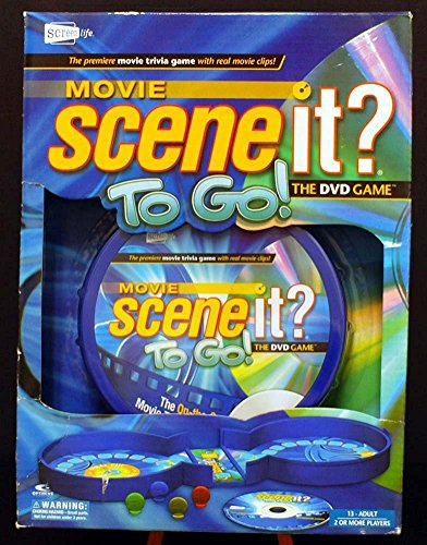 Scene It Movie To Go DVD...