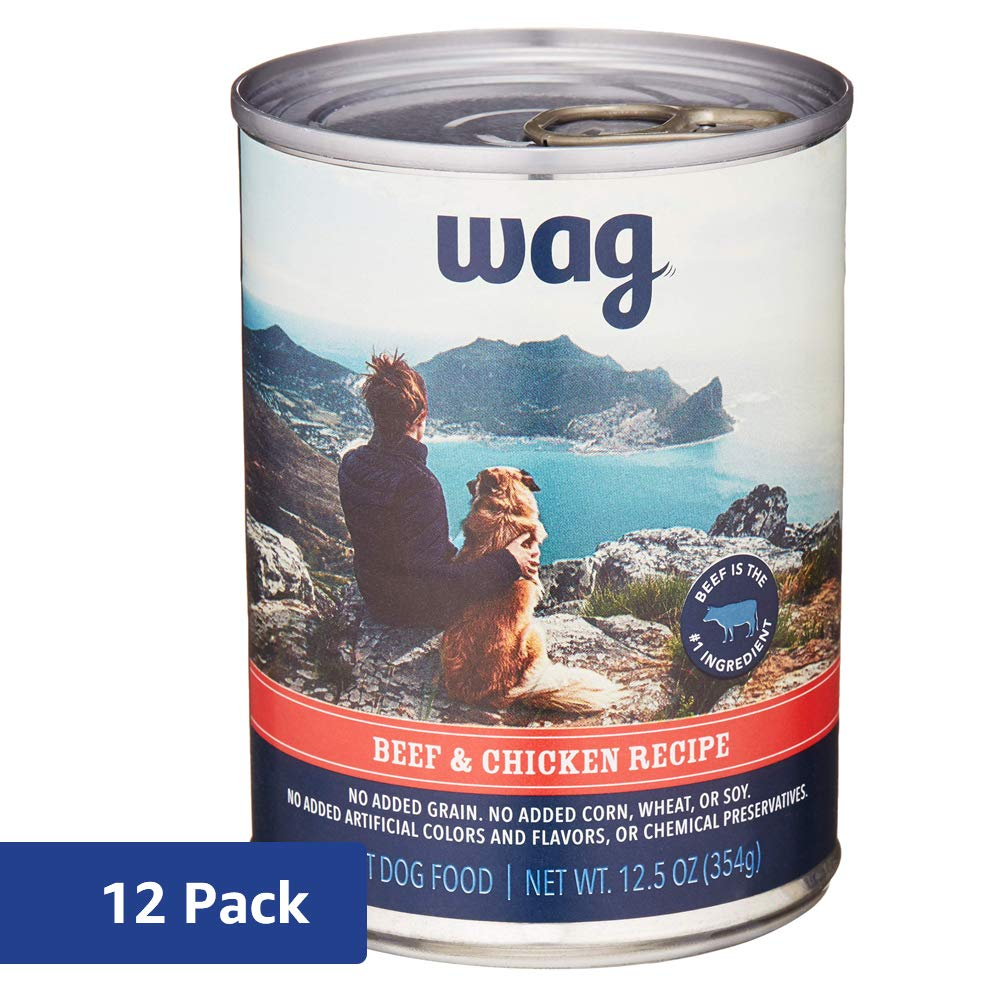 Wag Brand Wet Dog Food Pate Recipe