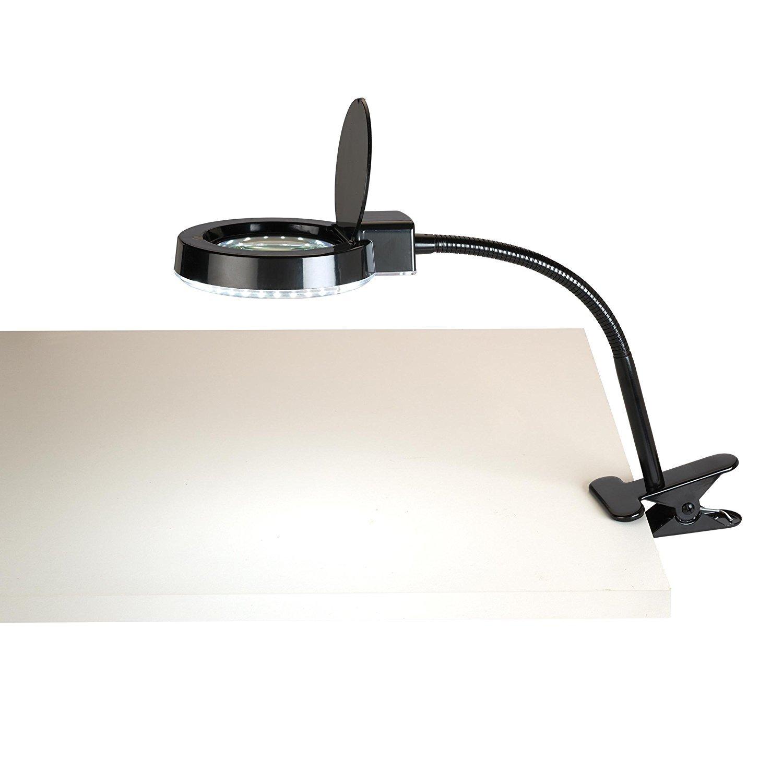 Tensor LED Magnifier Clip Light Electrix