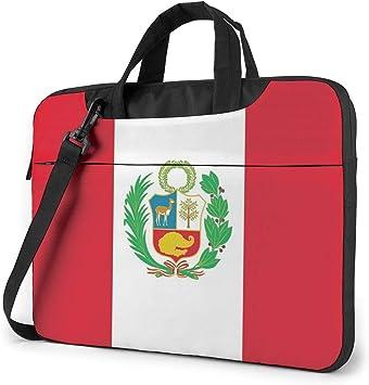 Estuche para computadora portátil, maletín con Bandera de Perú, Bolso de 15.6 Pulgadas: Amazon.es: Electrónica