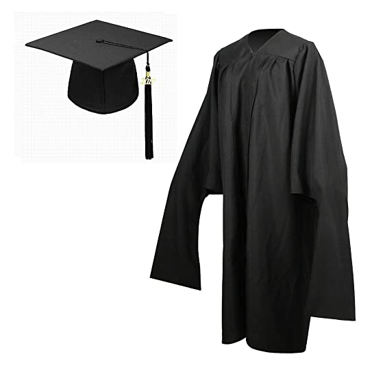 Amazon.com: YesGraduation Economy Master Graduation Gown Cap with ...