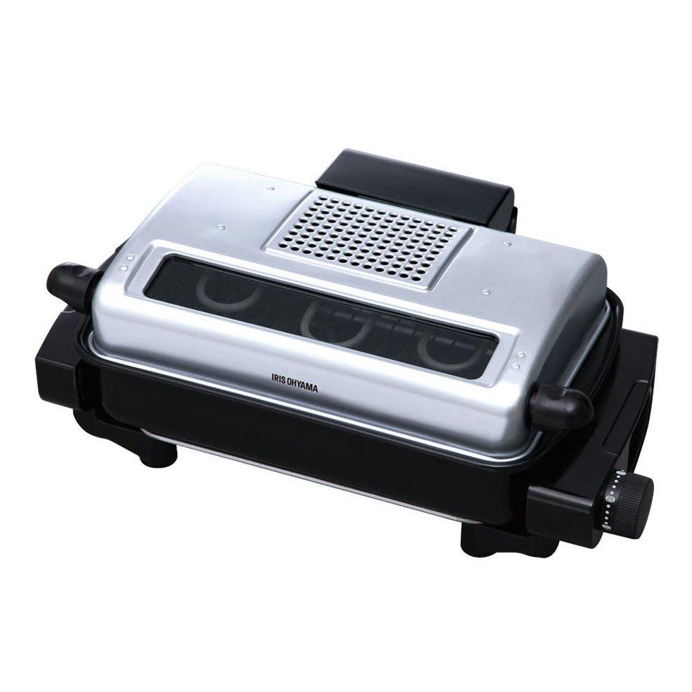 IRIS OHYAMA multi roaster EMT-1100-S (Silver)