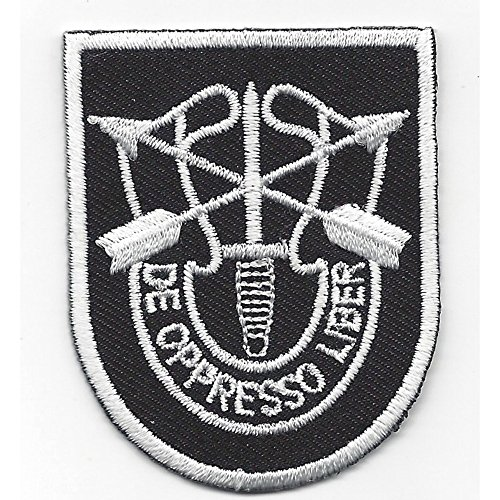 - 5th Special Forces Group Flash With Crest Patch