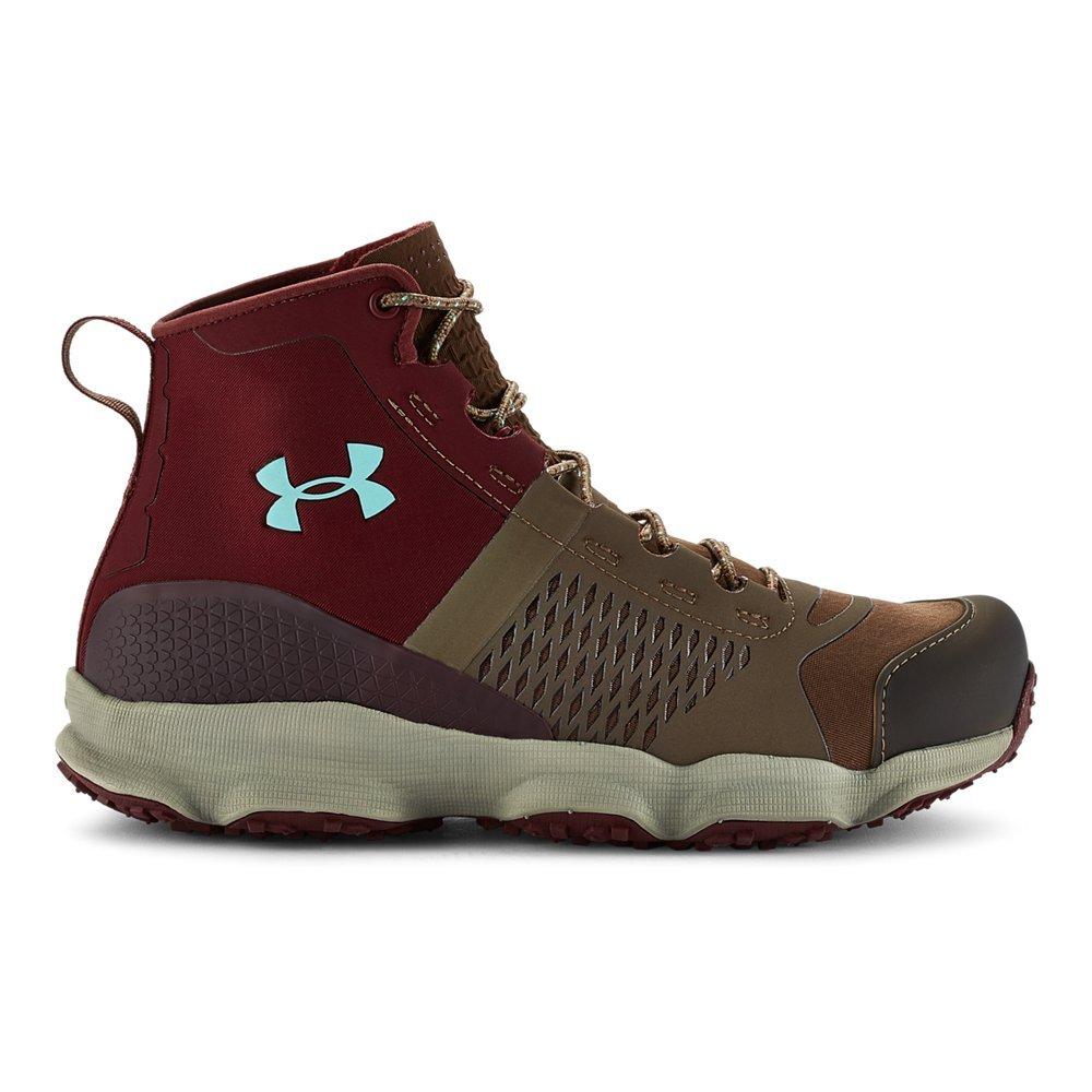 Under Armour Women's UA Speedfit Hike Boots B00RWF8TI6 7.5 B(M) US|Uniform/ Dark Maroon/ Veneer