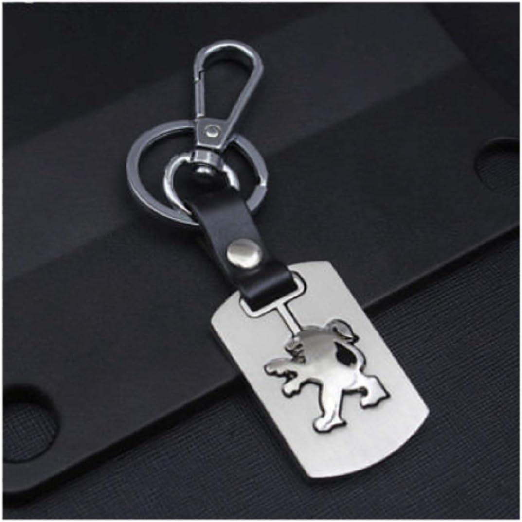 NN/_KA Porte cl/é cl/és Design en m/étal Top Design Compatible 206 207 307 306 208 308 508 2008 3008 5008