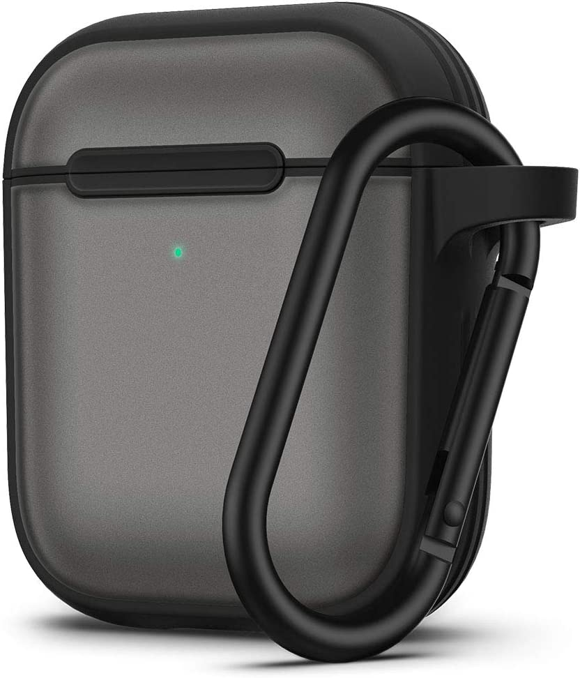 CYRILL Color Brick Designed for Apple Airpods 1, 2 Case (2019) - Black