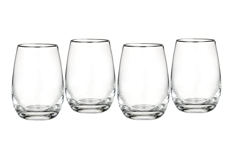 e95602c27ac Amazon.com: Marquis by Waterford Vintage All Purpose Stemless Wine ...