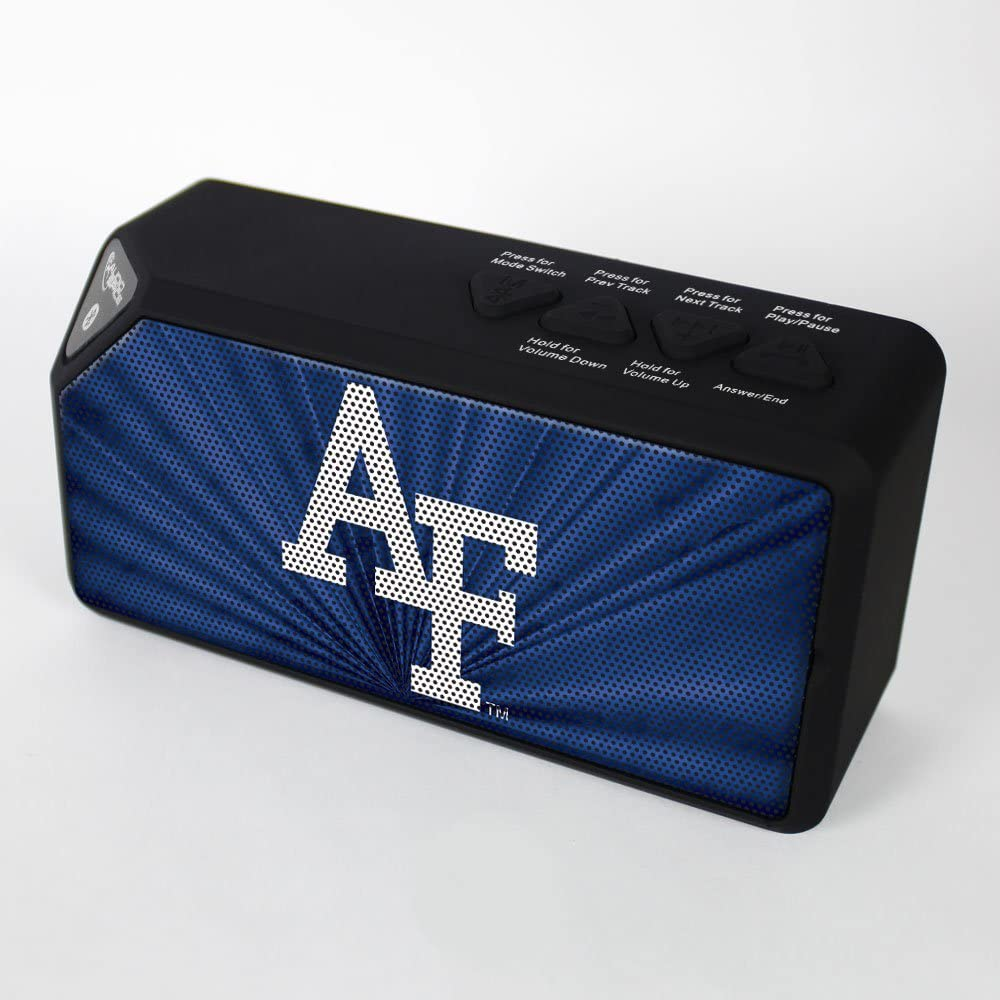 Air Force Falcons NCAA AudioSpice BX-100 Bluetooth Speaker