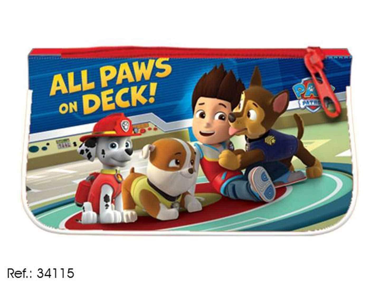 ESTUCHE TELA PLANO PAW PATROL: Amazon.es: Juguetes y juegos