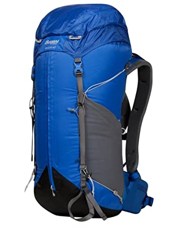 cd9867cdf817 Bergans Helium 40 - Athens Blue   Solid Grey - 40l - Lightweight  comfortable hiking pack