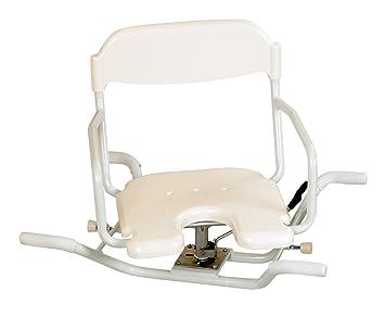 patterson medical sedia girevole per vasca da bagno 40 x 52 x 72
