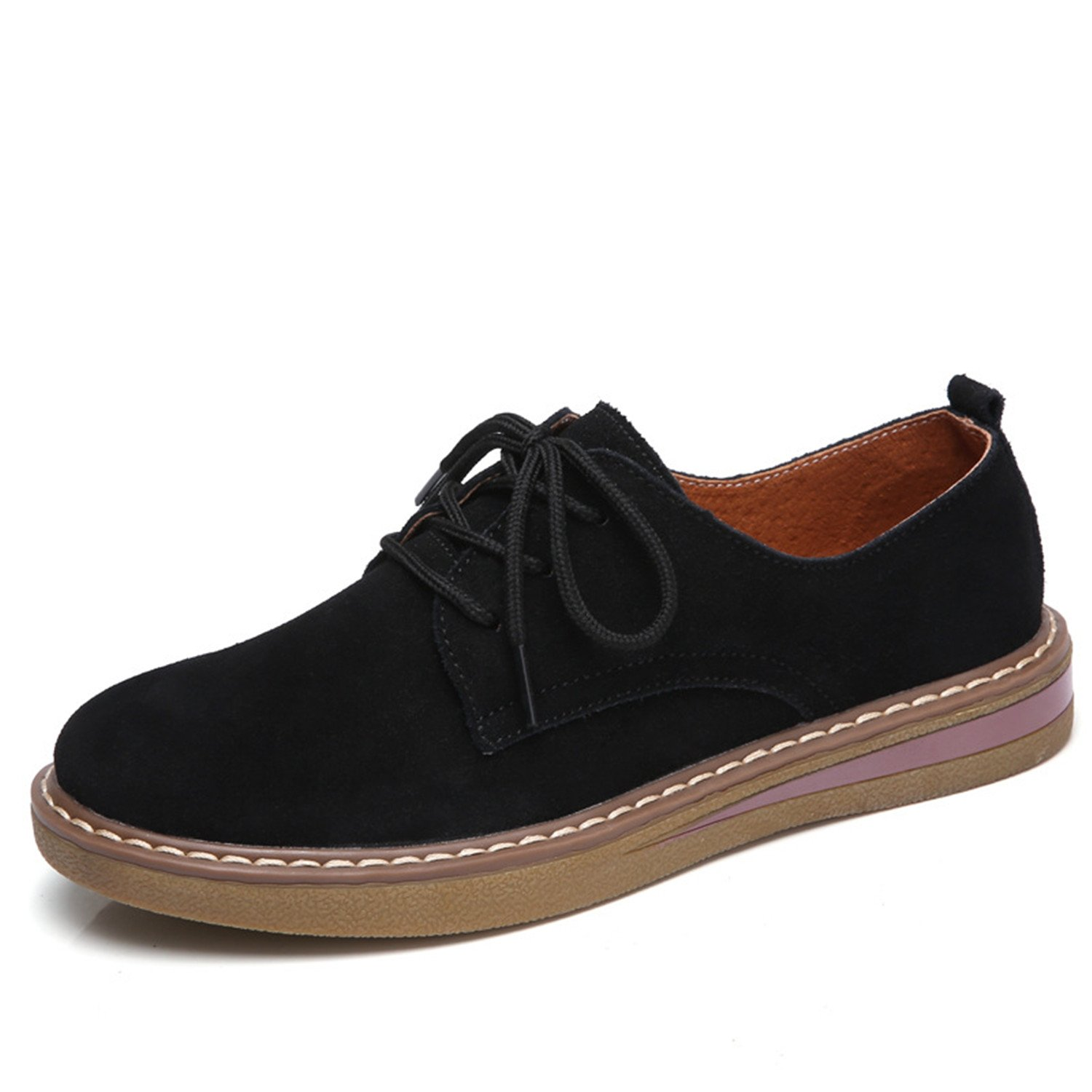 Amazon.com | Dormery 2018 Spring Oxford Shoes Genuine Leather Women Flats Casual Moccasins Loafers Ladies Shoes Sapatilhas Zapatos Mujer | Loafers & Slip- ...