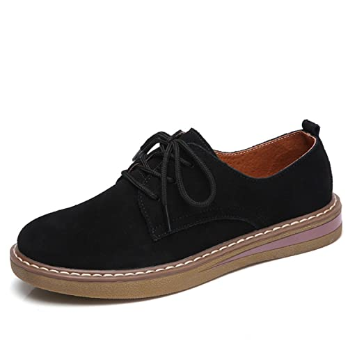 03763065f11 Dormery 2018 Spring Oxford Shoes Genuine Leather Women Flats Casual  Moccasins Loafers Ladies Shoes Sapatilhas Zapatos