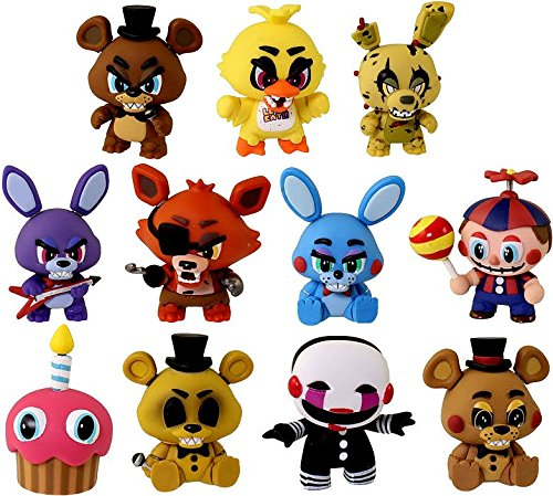 Five Nights at Freddy's Complete 11 Figure Base Set FUNKO Mystery Minis Figures