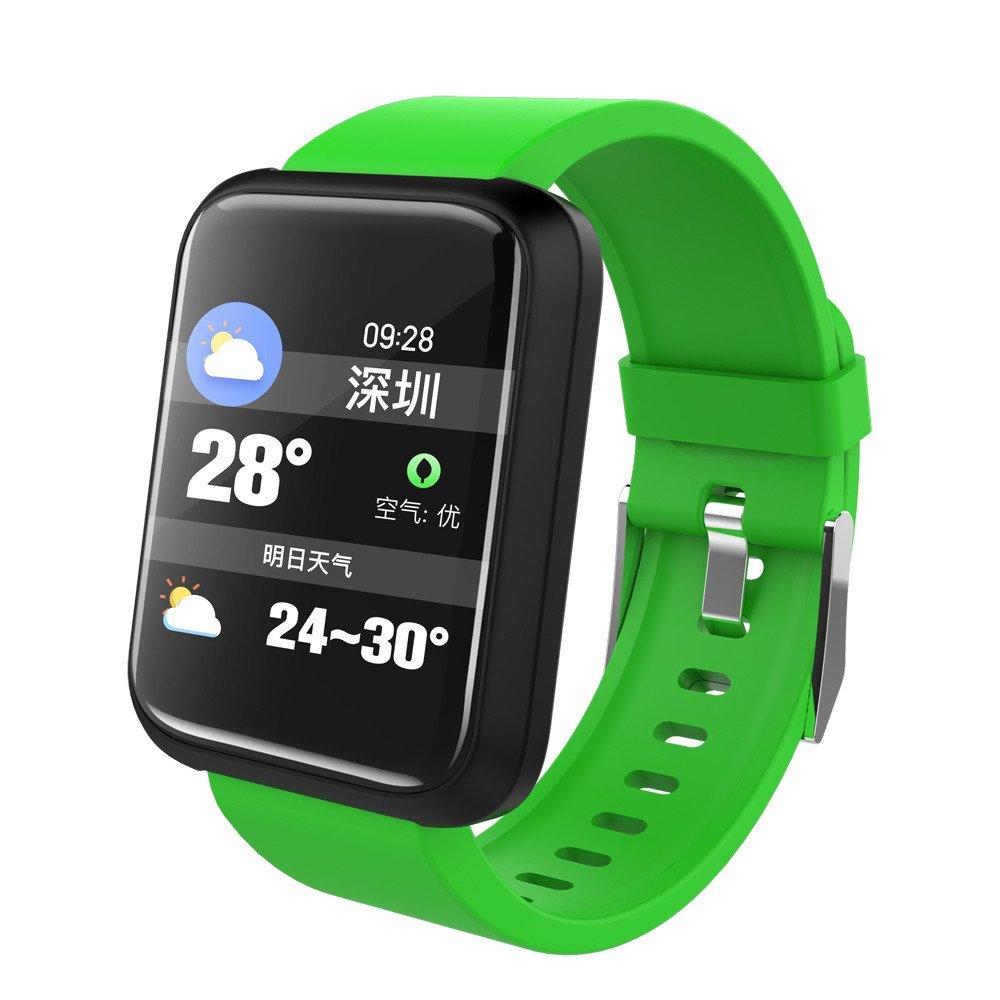 Cebbay Reloj Deportivo Detector de presión Arterial a Prueba de Agua Reloj Inteligente Pulsera Podómetro Reloj led: Amazon.es: Electrónica