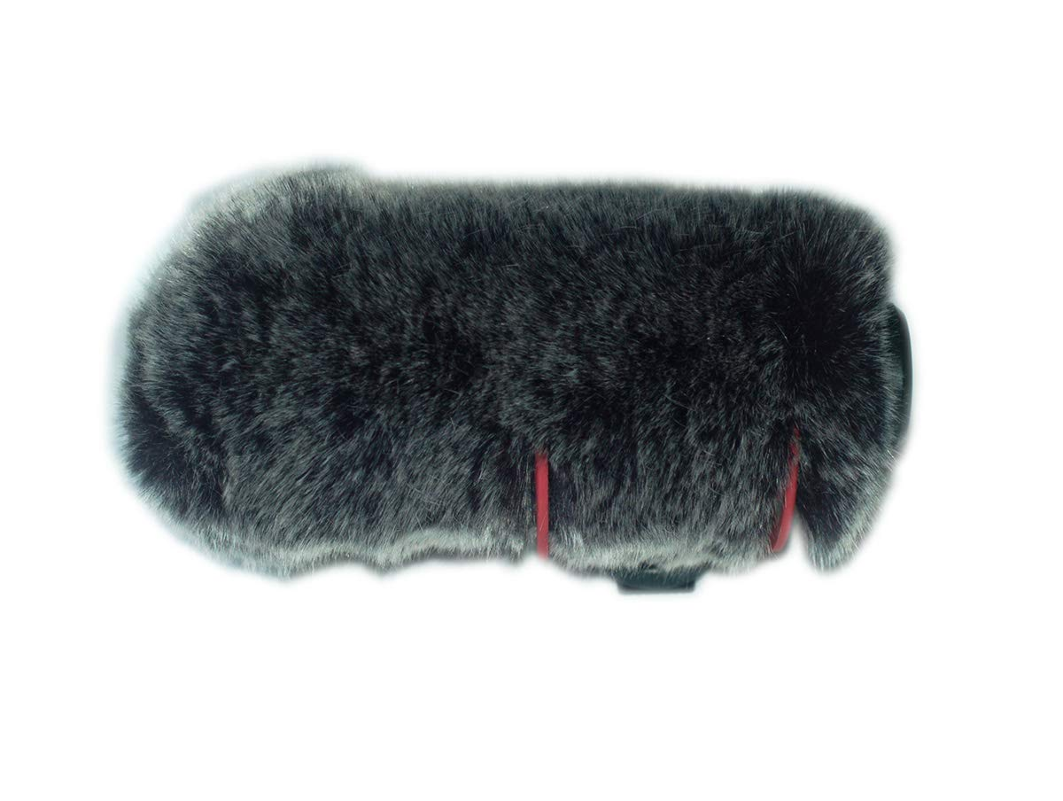 Fur Wind Shield Windscreen Reduce Wind Noise Compatible for Rode VideoMic GO Microphone Mic YH&YX