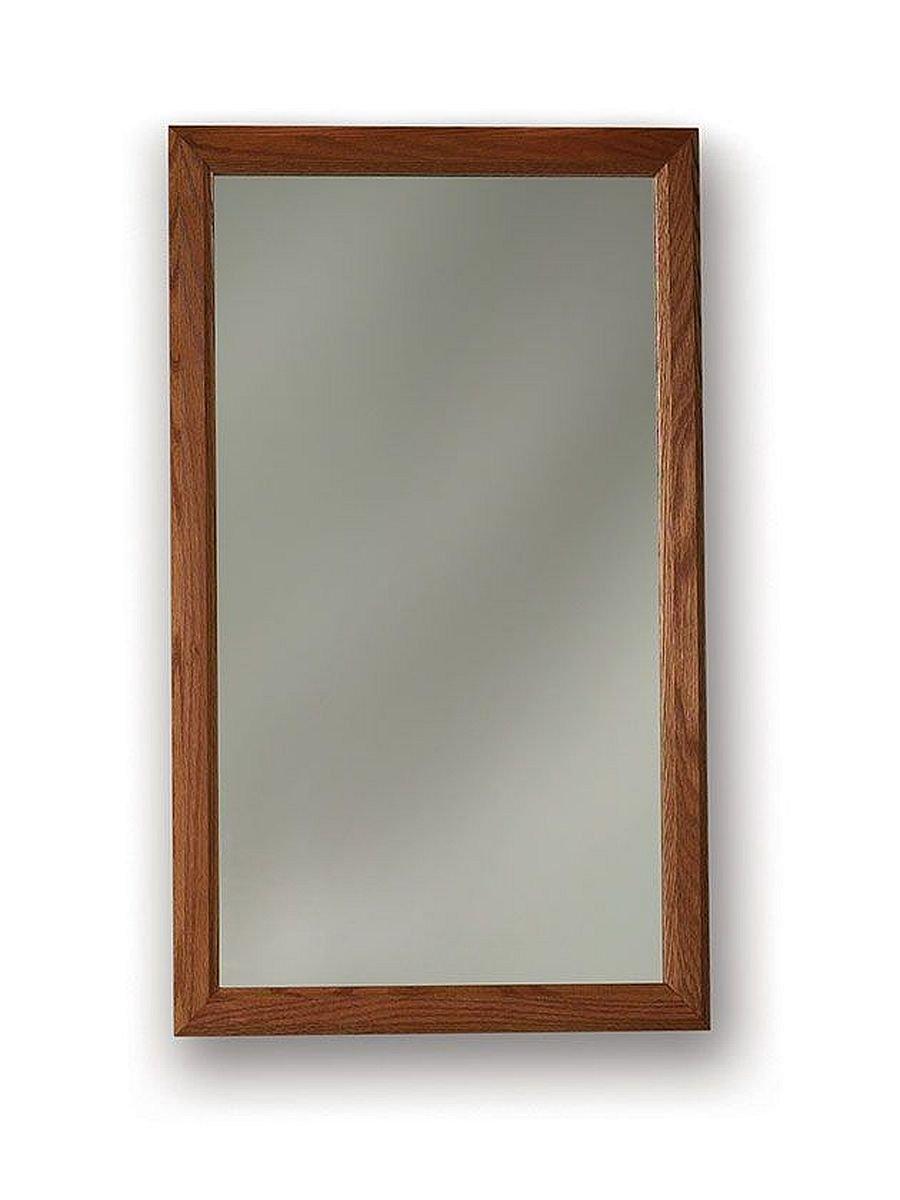 "Jensen 8773X Honey Oak Frame Medicine Cabinet, 16.25"" x 22"" - Recess mount: wall opening - 14 inch w x 18 inch H Left or right hand opening Butt hinge - shelves-cabinets, bathroom-fixtures-hardware, bathroom - 61HHk6KwsZL -"