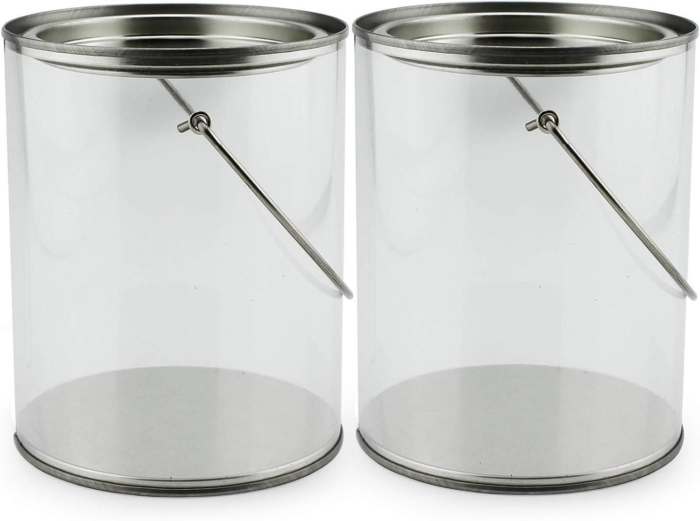 Amazon.com: Cajas de pintura de plástico transparente de ...