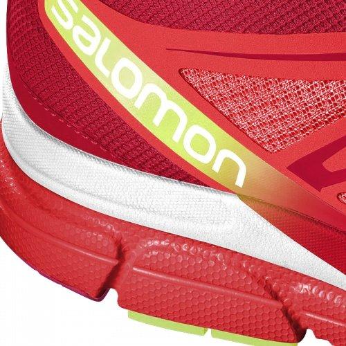 Salomon Kvinners X Skrike 3d Løpesko Rød-hvit