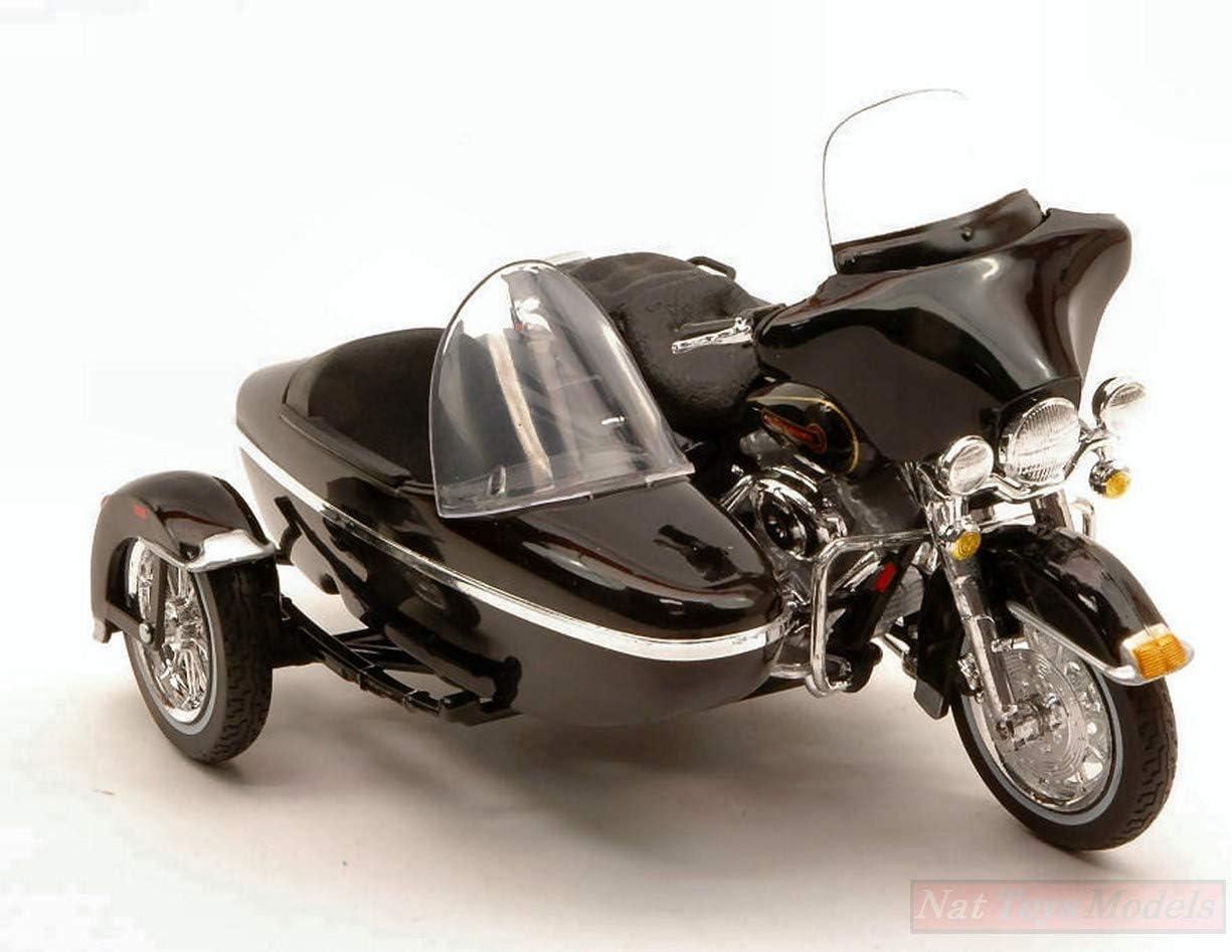 Maisto MI764 Harley Davidson 1998 FLHT Electra Glide Standard C//Sidecar 1:18 Compatible avec