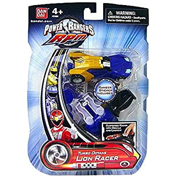 Amazon.com: Power Rangers RPM Turbo Octane Zord Blue Lion ...