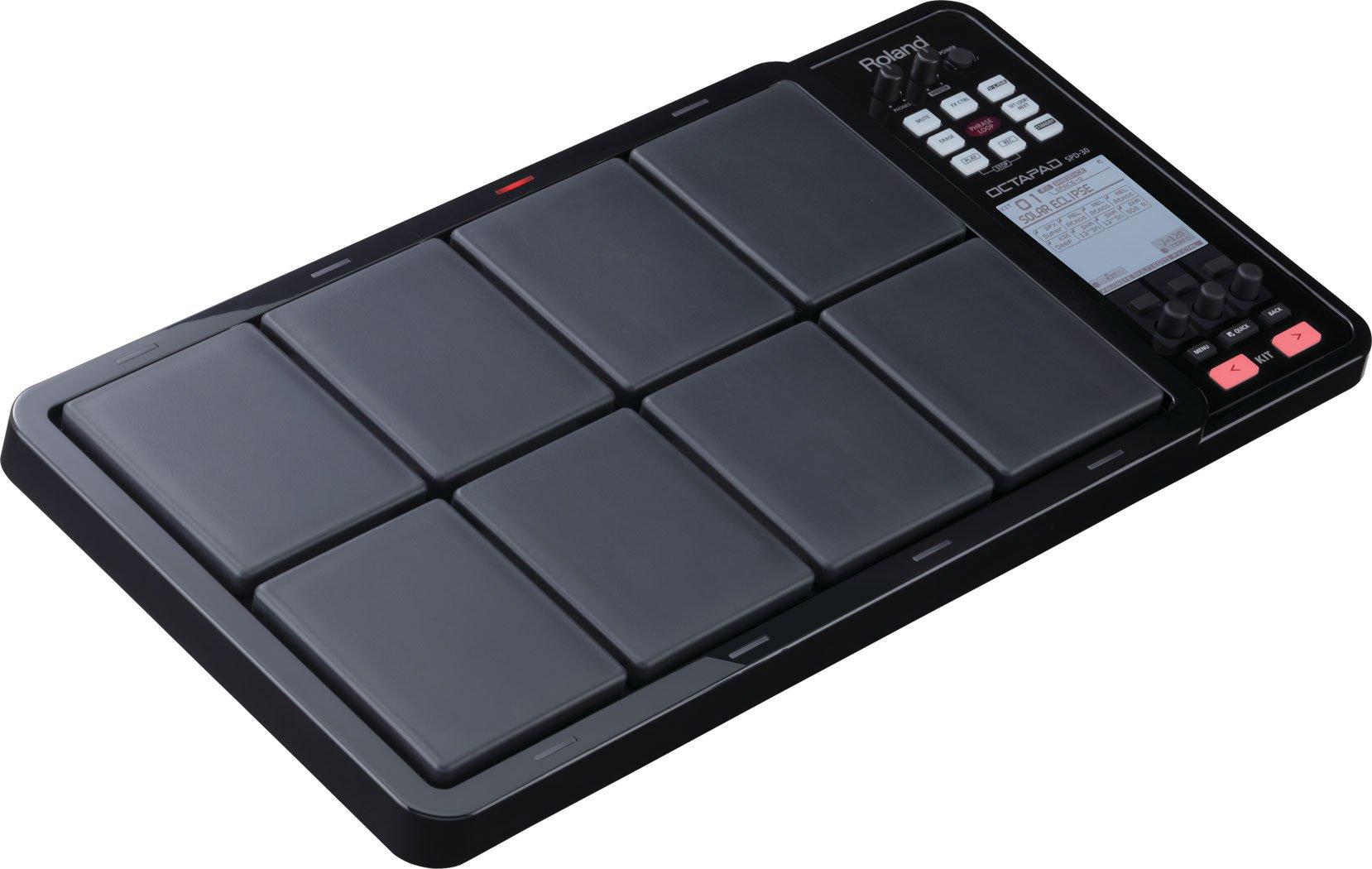 Roland OCTAPAD Digital Percussion Pad, black (SPD-30-BK) by Roland (Image #2)