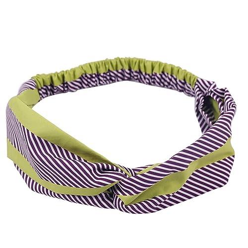 Vintage Women Hair Accessories Elastic Hair Band Headbands Button Headwear YL