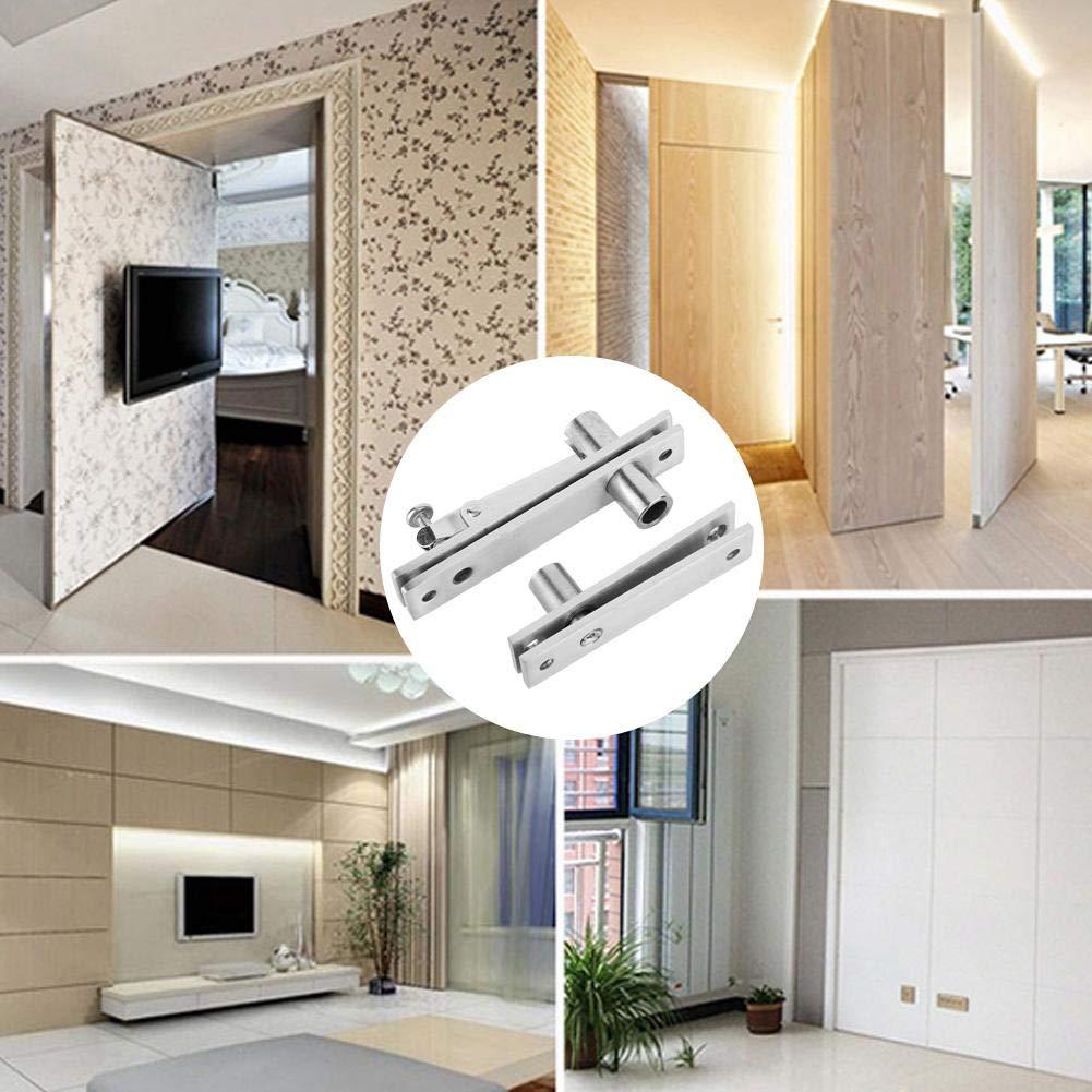 Sliver Durable Hinge Heat-Resistance for Bedroom Tall Building Mansion for Living Room Stainless Steel Spring Hinge