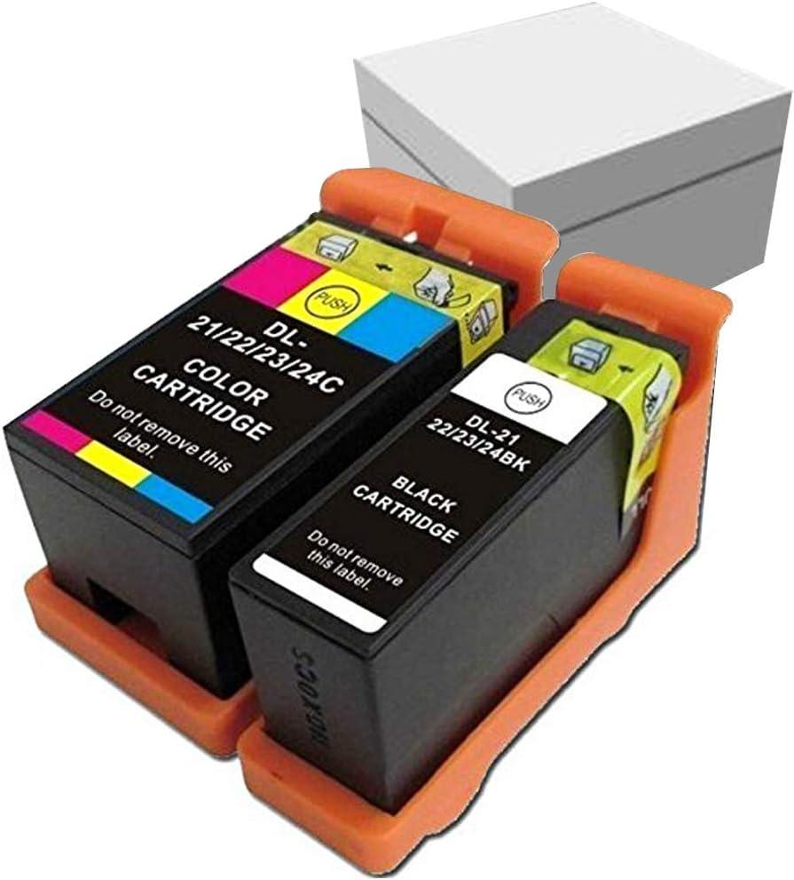 Amazon.com: 2 Cartucho de tinta compatible para impresora ...