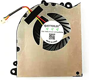 QUETTERLEE Replacement New Gpu Cooling Fan for MSI GS60 2PC GS60 2PL GS60 2QC GS60 2QD GS60 2QE GS60 6QE GS60 6QC Series PAAD06015SL N234 N294 Fan
