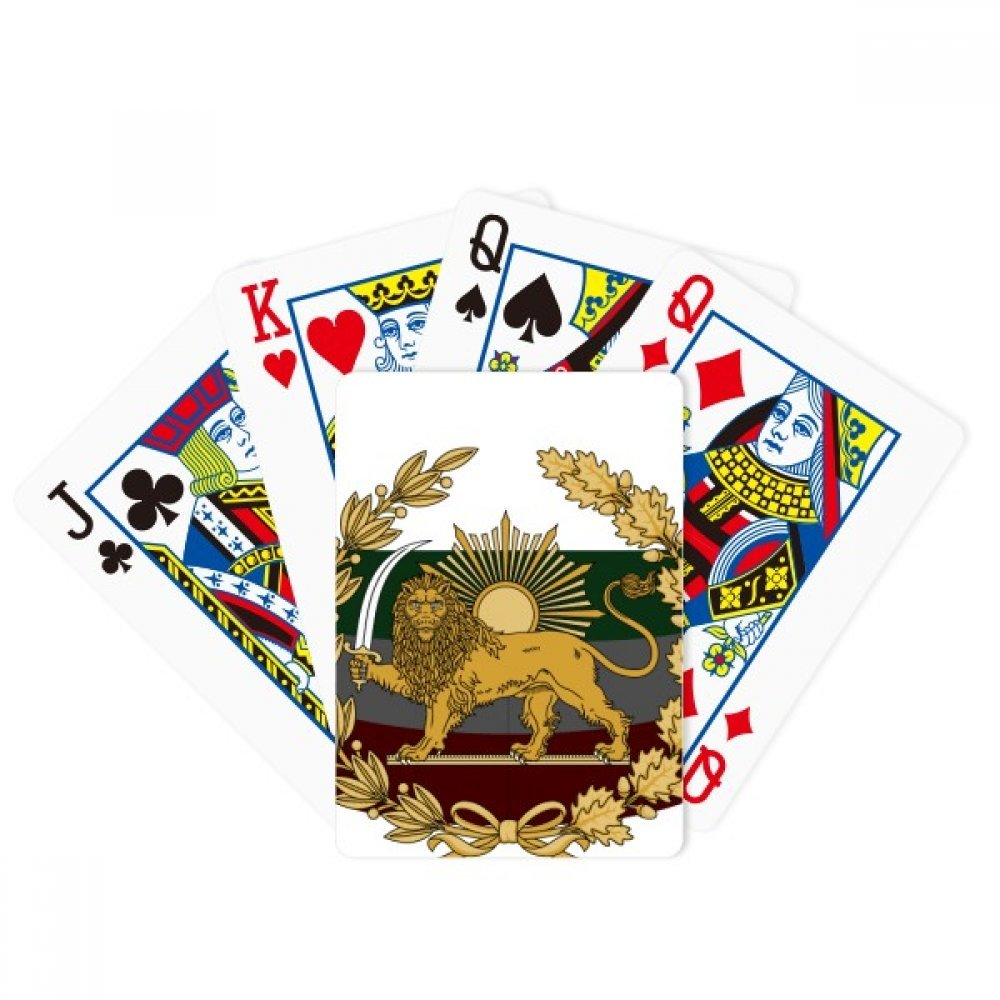 Italy National Emblem Country Poker Playing Cards Tabletop Game Gift