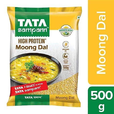 Tata Sampann Moong Dal Split, 500g